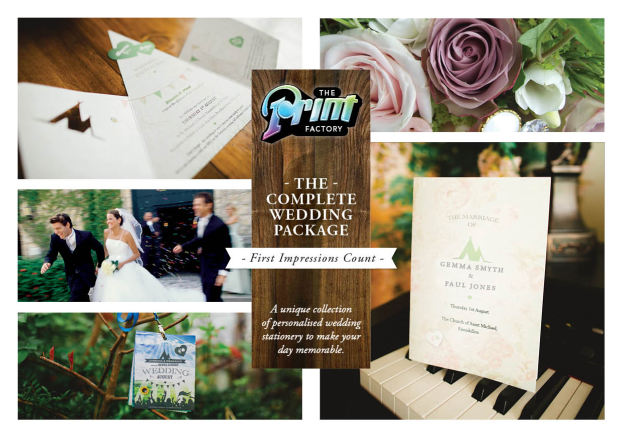 Browse Our Wedding Brochure